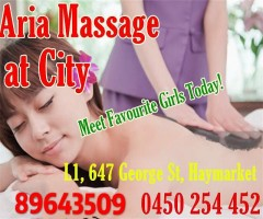 CBD ARIA Massage NEW 18-24 University Students Massage GirlLevel 1/647-649 George St In/Out - 19
